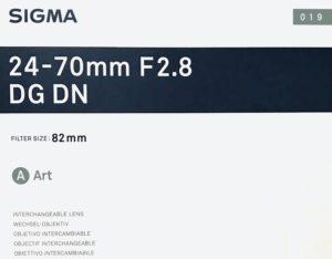 標準ズームレンズをSIGMA 24-70mm F2.8 DG DN Artに決めた理由【ソニーαEマウント】